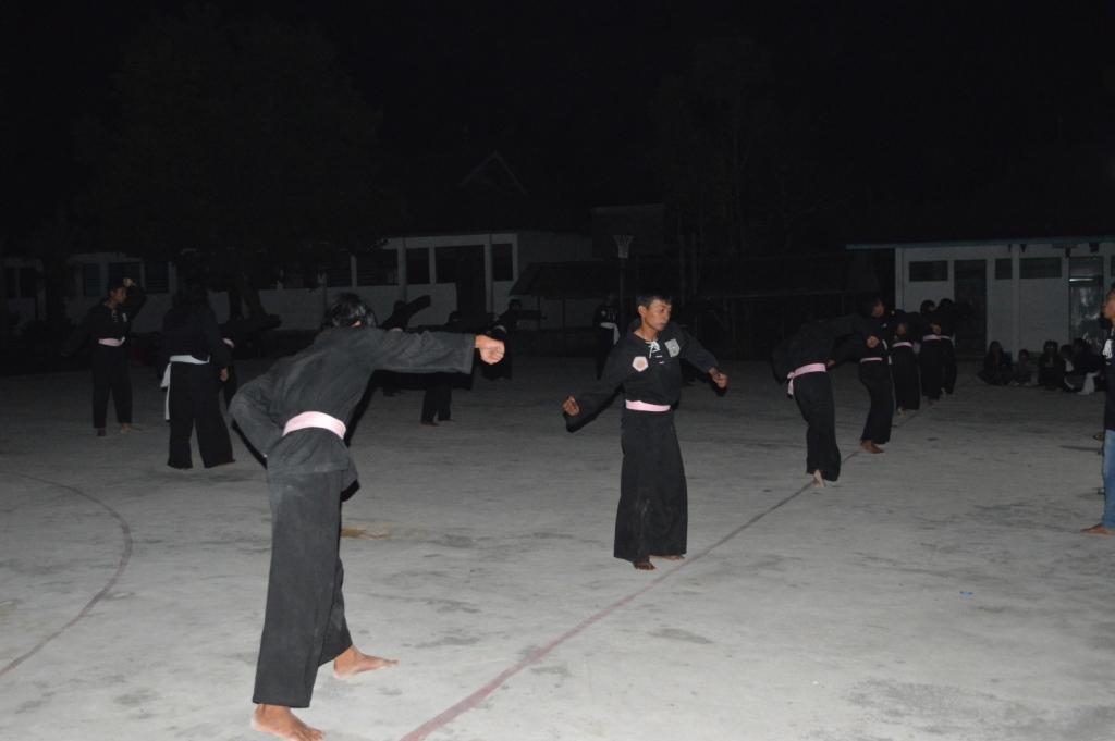siswa SMKN 1 Dusun Tengah akan dilantik menjadi warga PSHT